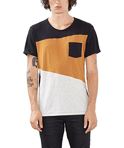 edc by ESPRIT 086CC2K009, T-shirt Uomo, Nero (BLACK), XX-Large