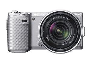 (超赞)Sony NEX-5N 索尼 1610万像素 微单相机+18-55镜头 触摸屏 $604
