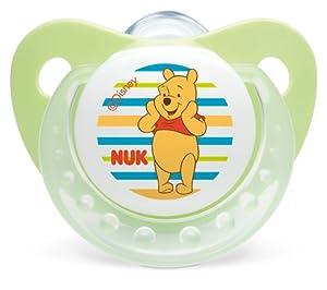 Nuk Winnie 710111 - 2 chupetes (T 1)