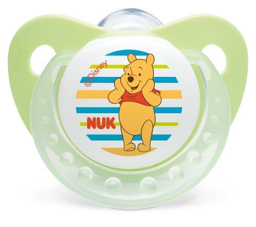 Nuk Winnie 710111 Dummies 2-Piece Set Size 1 (0-6 Months) Winnie the Pooh