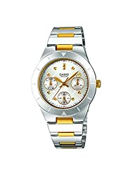 Casio Enticer Multi-Color Dial Womens Watch - LTP-2083SG-7AVDF (A530)
