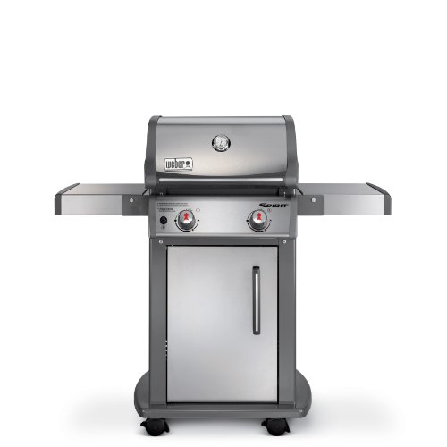 Weber 47100001 Spirit S210 Natural Gas Grill, Stainless Steel (Best Weber Bbq compare prices)