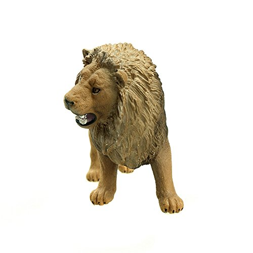 Schleich Lion Roaring Toy Figure - 1