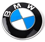 BIMMER pw-bmw Emblem Logo Replacement For Hood/Trunk 82mm For All Models BMW E30 E36 E46 E34 E39 E60 E65 E38 X3 X5 X6 3 4 5 6 7 8