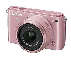 """Nikon 1 S1 Appareil photo numérique hybride 10,1 Mpix Écran LCD 7,5"""" 2,5X Rose"""