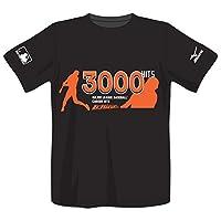 MIZUNO(ミズノ) イチロー選手 MLB3,000本安打達成記念 Tシャツ 12JA6Q9409O ブラック O