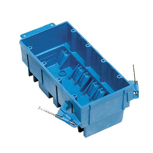 Thomas & Betts Bh464A New Work Super Hard Body Wiring Box, 64 Cuin Capacity, Blue