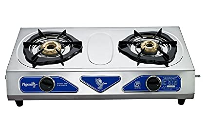 Stainless Steel Duo Gas Cooktop (2 Burner)