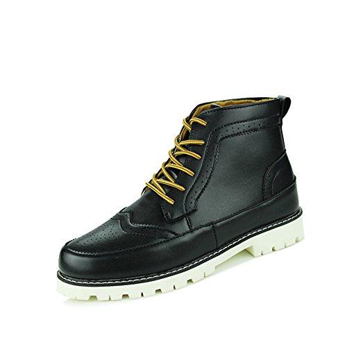 Le tendenze in estate e in autunno, Martin stivali/Sneakers casual skid/Brock semplici scarpe-A Lunghezza piede=25.8CM(10.2Inch)