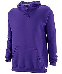 Russell Athletic Men\'s Dri Power Hooded Pullover Fleece Sweatshirt, Purple, 4X-Large