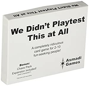 We Didn't Playtest This at All - With Chaos Pack