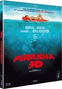 Piranha 3D (Edition Blu-ray 3D anaglyphe, le film en 2 D et en 3D, 2 paires de lunettes 3D incluses) [Version 3-D]