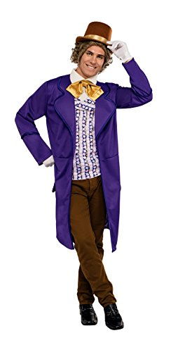 [820156 (Std Large 44 Chest) Adult Willy Wonka] (Willy Wonka Costume)