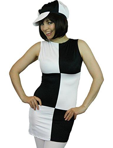 K g black dresses 60s style