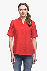 Womens Flame Roll Up Top