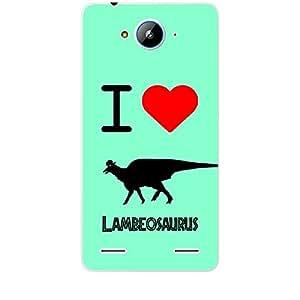 Skin4gadgets I love Lambeosaurus Colour - Light Blue Phone Skin for ZTE V5