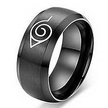 buy Jacob Alex Ring Unique Band Titanium Steel Ring Size6 Black Women'S Engagement Wedding Free
