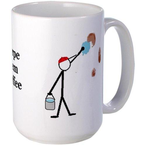 Cafepress Self-Cleaning Large Mug Large Mug - Standard