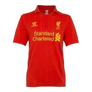 2012-13 Liverpool Home Football Shirt