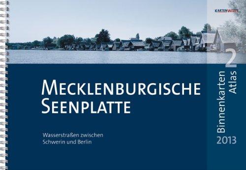 Mecklenburgische Seenplatte Karte Pdf.Download Binnenkarten Atlas 2 Mecklenburgische Seenplatte