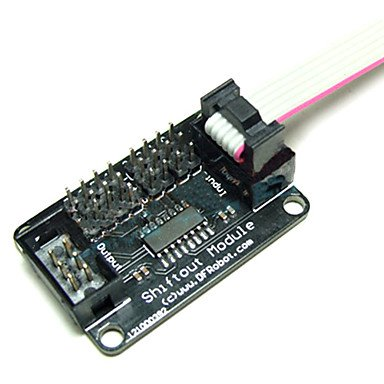 Luo Dfrobot Arduino Interface Shiftout Spi Led Lcd Idc6 Cable
