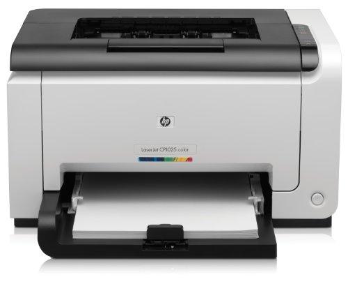 HP Color LaserJet Pro CP1025 Farblaserdrucker (600x600 dpi, USB 2.0) wei�/