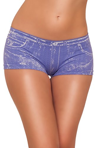 Sexy Booty Denim Design Seamless Chic Hot Low Rise Short Shorts
