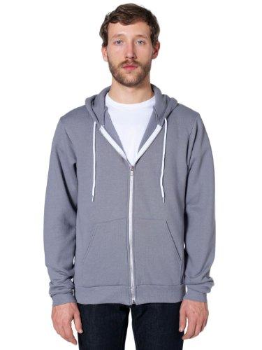 american-apparel-unisex-flex-fleece-zip-hoodie-slate-s