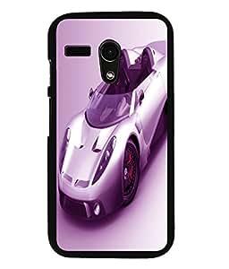 printtech Superfast car Back Case Cover for Motorola Moto G X1032::Motorola Moto G (1st Gen)