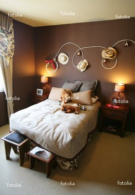 """Wallmonkeys Peel and Stick Wall Graphic - Cowboy Rodeo Bedroom - 48""""H x 33""""W"""