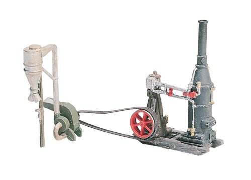 Woodland Scenics HO Steam Engine/Hammer Mill WOOD229