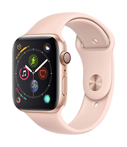 AppleWatch Series4(GPSモデル)- 44mmゴールドアルミニウムケースとピンクサンドスポーツバンド
