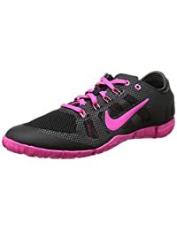 Nike Womens Free Bionic Black Pink Athletic Running Shoes