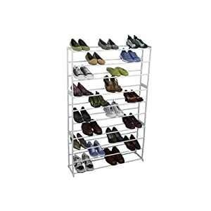 Click Here For all right Size 50 Pair Shoe Tower Storage Rack