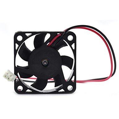 Zaki Maitech 40 X 40 X 10Mm 12V 0.10A Dual Balls Muting Cooling Fan - Black