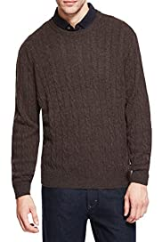 Blue Harbour Extrafine Pure Lambswool Twisted Cable Knit Jumper [T30-2110B-S]