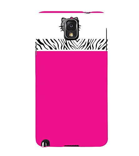 Fuson Designer Back Case Cover for Samsung Galaxy Note 3 :: Samsung Galaxy Note Iii :: Samsung Galaxy Note 3 N9002 :: Samsung Galaxy Note 3 N9000 N9005 ( Classic Pink Color Design )  available at amazon for Rs.433