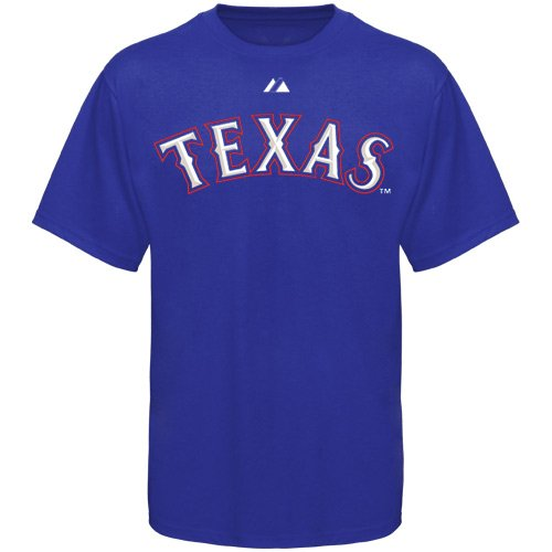 Texas Rangers Official Wordmark Short Sleeve