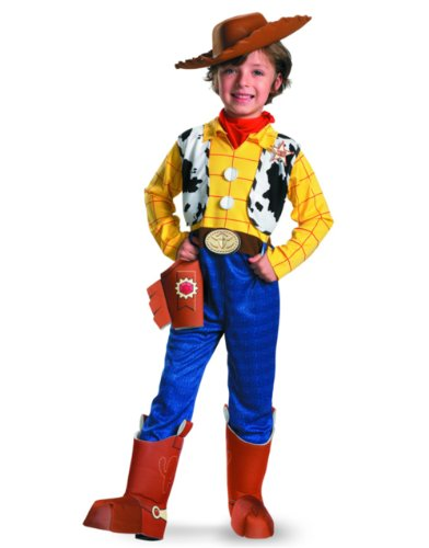 Disguise Disney Toy Story Woody Deluxe Kids Cowboy Costume - Toddler 3T-4T