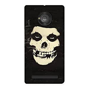 Special Vintage Skull Face Back Case Cover for Yu Yuphoria