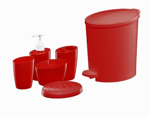 Bisk 03311 POP Bin and Accessory Set, Red