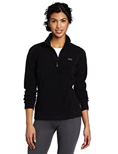 Helly Hansen Women's Daybreaker 1/2 Zip Fleece Pullover - Black, X-Small