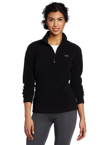Helly Hansen Women's Day Breaker 1\2 Zip Fleece, Black, Medium