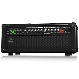 Behringer VT100FXH Virtube 100-Watt Guitar Amplifier Head with 2 Independent Channels, VTC Tube Modeling And Dual Fx