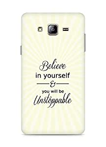 AMEZ believe in yourself and you will be unstoppable Back Cover For Samsung Galaxy ON5