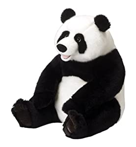 speciale moda donna primavera estate panda gigante peluche. Black Bedroom Furniture Sets. Home Design Ideas