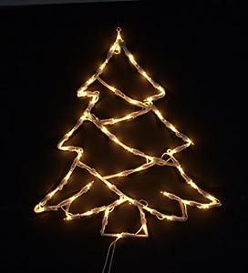 fensterbild beleuchtet lichterkette weihnachtsbaum. Black Bedroom Furniture Sets. Home Design Ideas