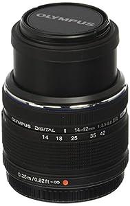 Olympus 14-42mm Interchangeable Lens for Olympus/Panasonic Micro 4/3 Cameras