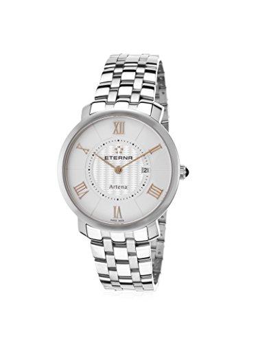 Eterna Women's ETERNA-2510-41-15-0273 Artena Silver-Tone/White Stainless Steel Watch