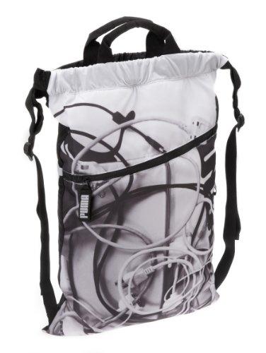 PUMA Rucksack Motion Mr Laptop Daypack, black-white-photo